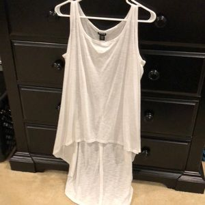 Torrid size 1 high low tank top